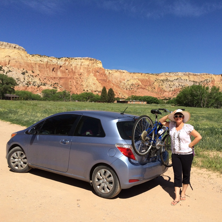 Amelia at Ghost Ranch, New Mexico