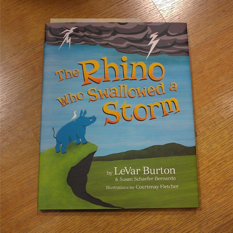 Image of The Rhino who Swallowed a Storm by LeVar Burton